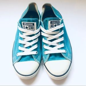 Converse All-Star Sneakers Low Blue Size 7.5